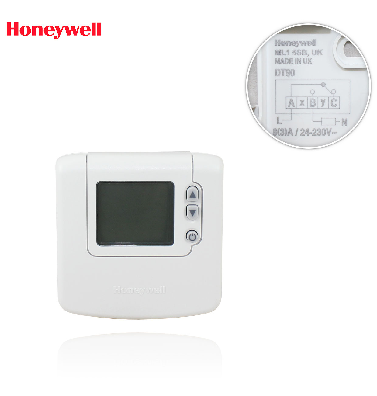 DT90 TERMOSTATO DE AMBIENTE DIGITAL HONEYWELL
