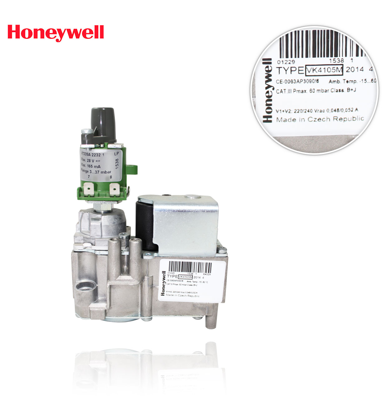 VK 4105 M 2014 B  BLOQUE REGULACION HONEYWELL